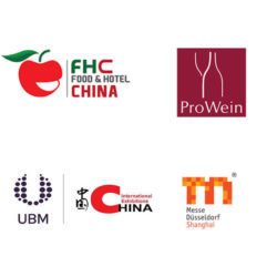 Logos of ProWine China partners