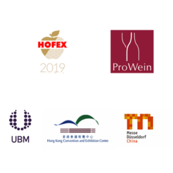 Logos of ProWine Asia partners