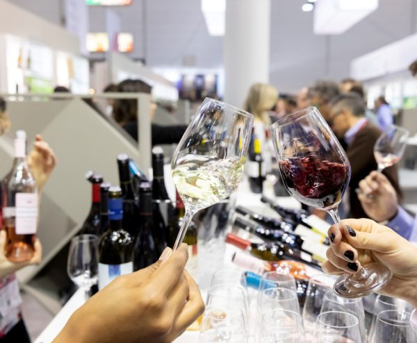 Wine tasting at ProWein